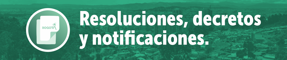 resoluciones decretos y notificaciones